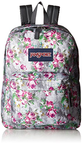 JanSport Unisex SuperBreak Multi Concrete Floral Backpack
