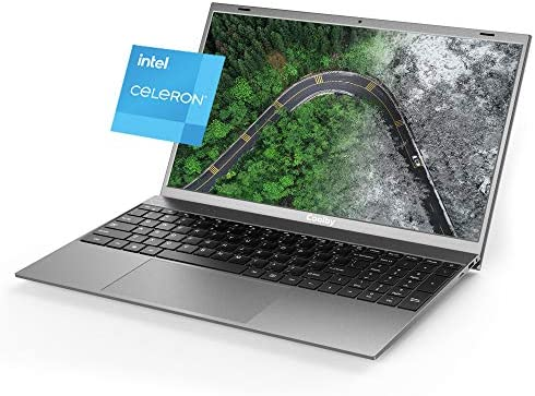 "2021 New Coolby ZealBook Ultra Thin and Light Laptop, Intel J4115Quad-Core 15.6"" 1080P Slim Computer Laptops with Full HD Display, 256GB SSD, 8GB DDR4, Full Size Keyboard, Windows 10"