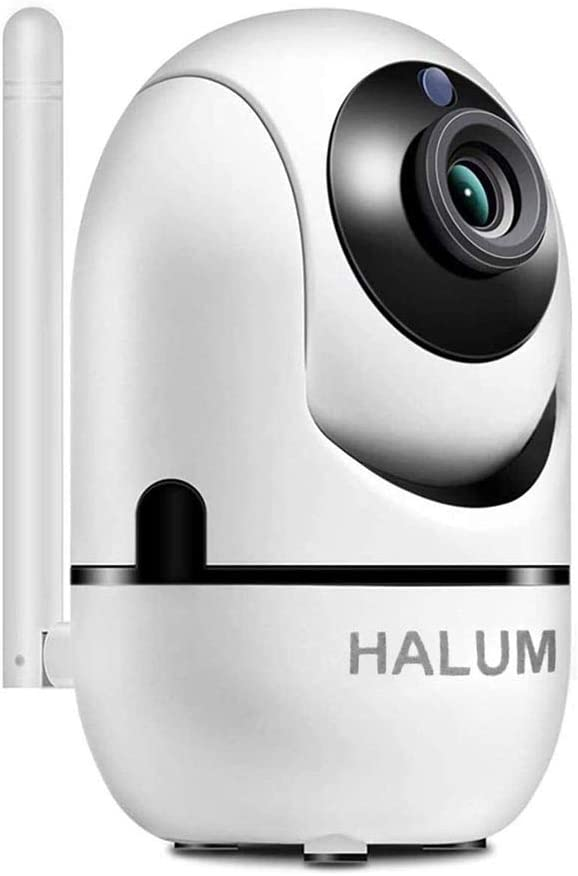 WiFi Camera,HALUM IP Wireless Security Camera System FHD Camera with HD Night Vision/Two-Way Audio/Motion Detection Indoor Camera for Baby/Pet Monitor