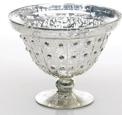 mercury glass pedestal - 5