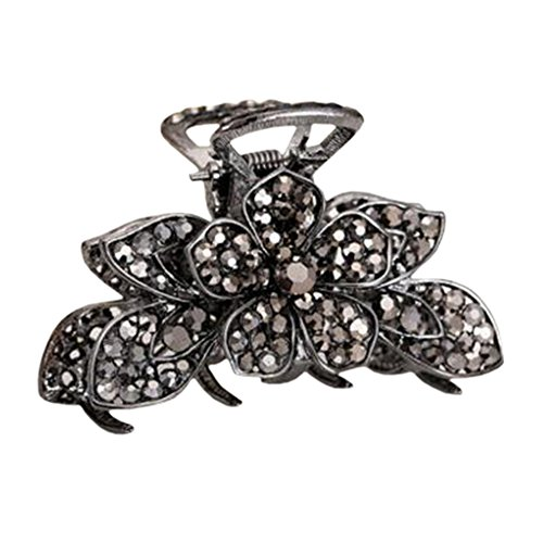 Stylish Hair Accessory Hair Clips Crystal Retro Updo Hairpin Durable Hair Grip T (Daisy From Great Gatsby Costume)