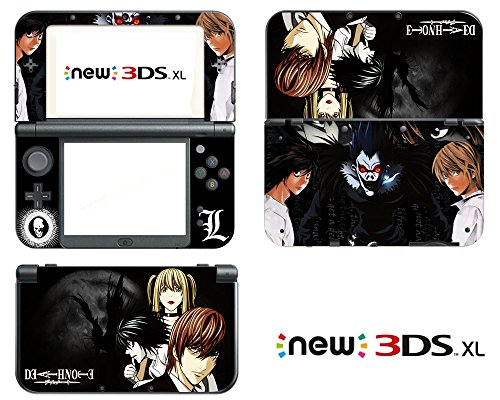 Price comparison product image Vanknight Vinyl Decals Skin Sticker Anime for the New Nintendo 3DS XL 2015