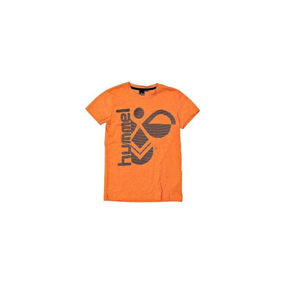 Hummel Fashion Mens Hummel T shirt 152/12 years Orange