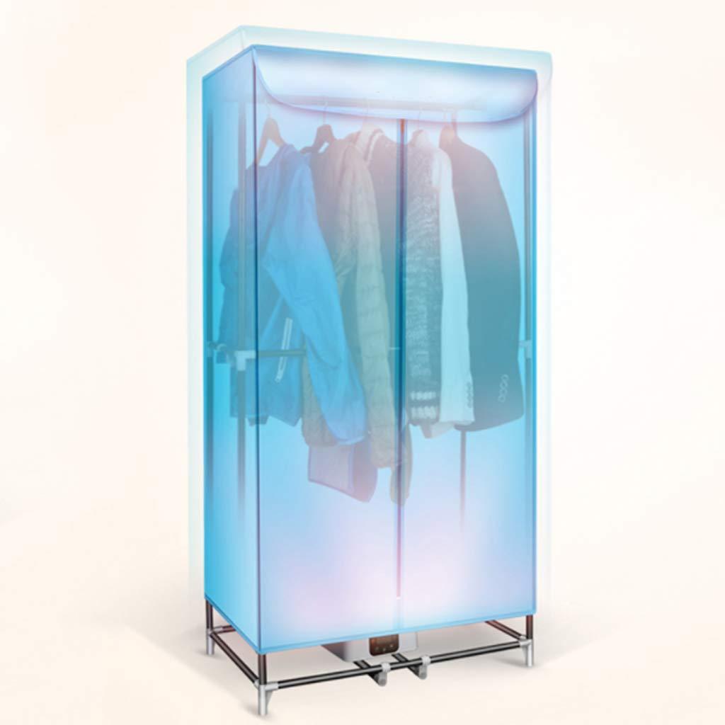 JIE KE ポータブル2層省エネルギー(アニオン)衣類乾燥機リモートコントロール付き自動タイマー B07Q7RN256