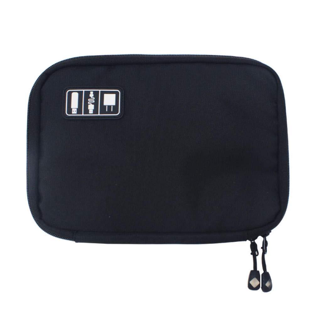 Anzinia 24 3,6 cm Tragbare Kabel Aufbewahrungstasche Reise Digitale Elektronische Zubeh/ör Aufbewahrungstasche USB-Ladeger/ät Mobile Power Headset Box Set Tasche 17