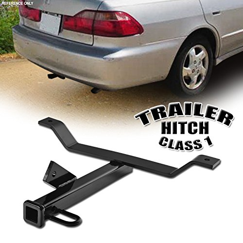 VXMOTOR for 1998-2007 Honda Accord / 1999-2003 Acura TL / 2001-2003 CL Class 1 I Trailer Towing Hitch Mount Receiver Rear Bumper Utility Tow Kit ()