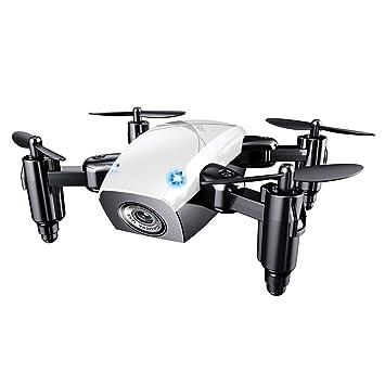 JHSHENGSHI Drone, Drone con Cámara HD con Follow Me, Altitude Hold ...