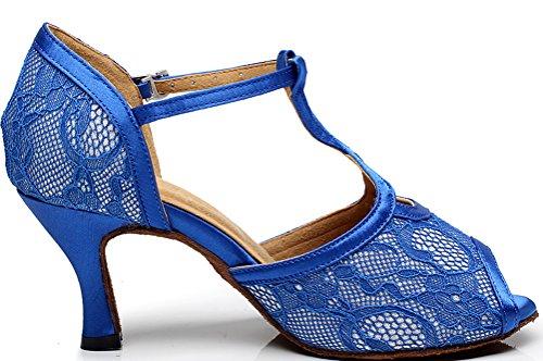 Salabobo de Salón de Paño Mujer Azul