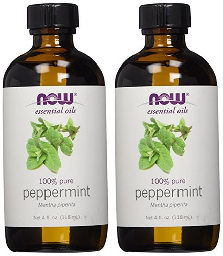 - Peppermint Oil 100% Pure & Natural - 4 oz. (Two Pack)