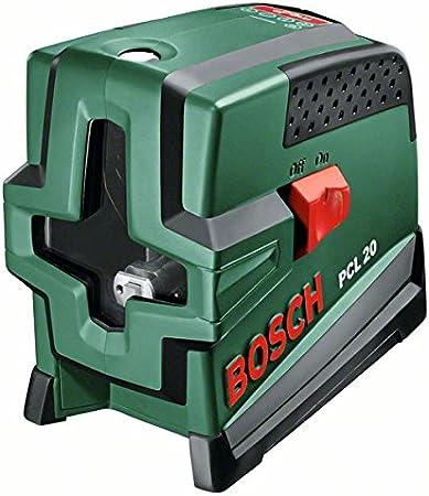 Bosch 0603008200 Niveau laser en croix PCL 20 avec Support mural