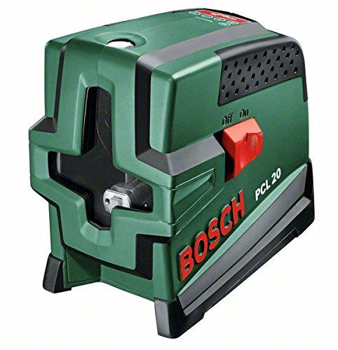 126 opinioni per Bosch PCL 20 Livella Laser Multifunzione, Verde