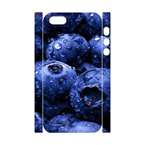 3D Plant 40 IPhone 5,5S Case, Hipster Protective Case Iphone 5s Cases for Girls Protective Okaycosama {White}