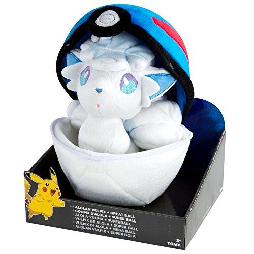 Pokemon Vulpix palla Peluche giocattolo super in una Alola jMLUzVGpqS