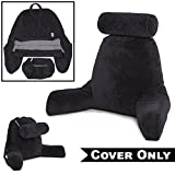 Husband Pillow Black Cover ONLY Cover Set