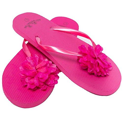 Piscina para Airee Playa y para Flor Fairee Mujer Chanclas Rosa wXq0xSdX