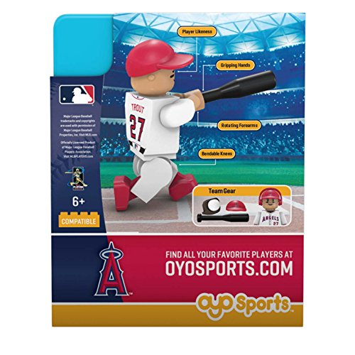 70e583c3b OYO MLB Los Angeles Angels Gen5 Limited Edition of Anaheim Mike Trout  Minifigure