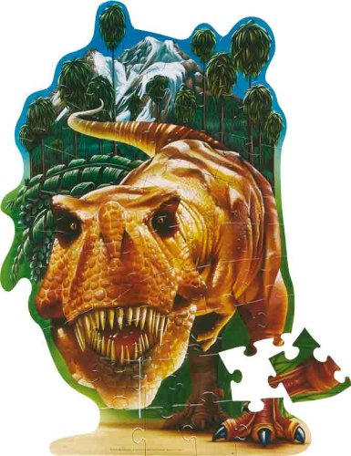 T-rex Floor Puzzle - Wild Republic T-Rex 50pc Floor Puzzle