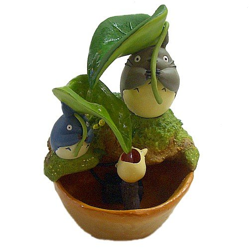 Umbrella of Totoro Water Garden / large, medium and small leaves next (japan - Watergardens Stores
