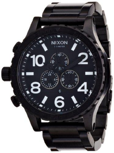 NIXON (ニクソン) THE 51-30 CHRONO ALL BLACK NA083001-00 メンズ