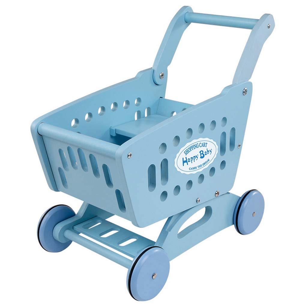 QIDUll Carro de la Compra para niños, Juego de Trolley ...