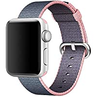 Apple Watch band Series 1 Series 2, Oitom Woven Nylon Watch Band Replacement Strap for Apple Watch 42mm/38mm 2015...
