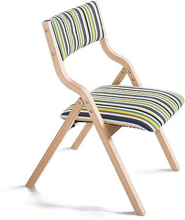 Chaises pliantes Chaise pliante en bois massif Tabouret