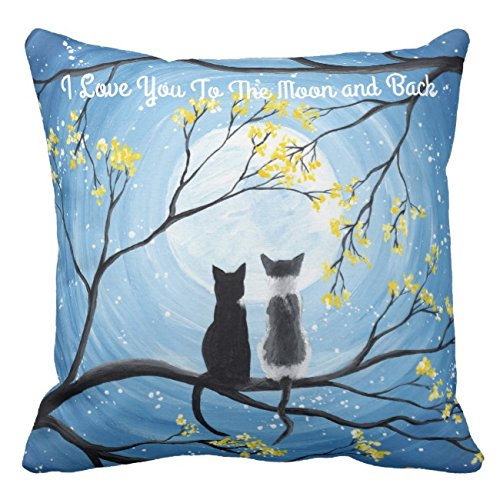 HL HLPPC I Love You To The Moon and Back Cat - Funda de ...