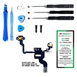 proximity sensor iphone 4 - iPhone 4 (GSM) Power Button, Proximity Light Sensor, and Microphone Flex Cable Replacement Kit with DM Tools and Instructions Included - DIYMOBILITY