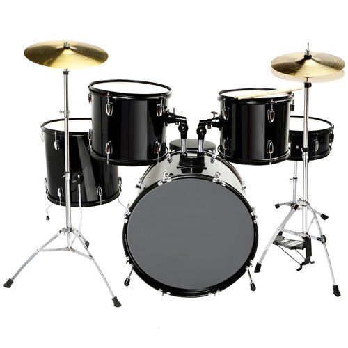 black 22 complete drum set