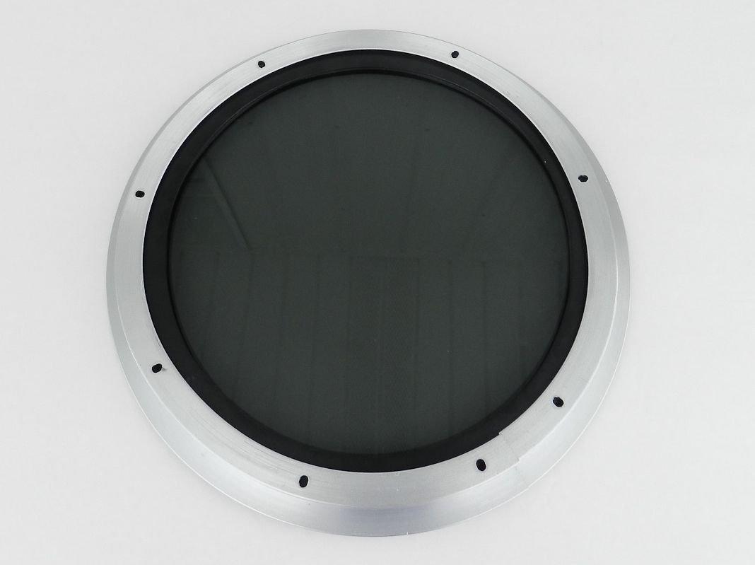 Porthole door kit ssz00 double glazed lozenge shaped for 12 round window
