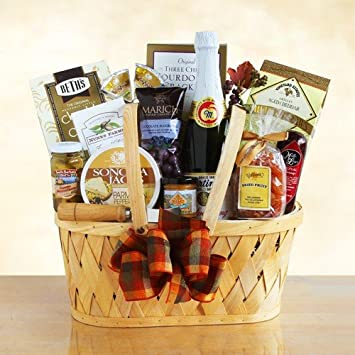 Image Unavailable. Image not available for. Color: Napa Valley Thanksgiving Gift Basket
