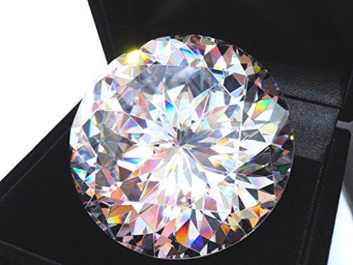 121 가기 50mm AAAAA 큐빅 산화 지르코늄 루스 벌 거 벗은 바위 50mm 1 개의 주얼리 BOX 된 / 121 Cut 50mm AAAAA Cubic Zirconia Loose Bare Stone 50mm 1 piece With Jewelry BOX
