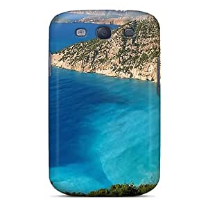 AJVjOJO5019MENVX Anti-scratch Case Cover AmyJoHalum Protective Greece1021 Case For Galaxy S3