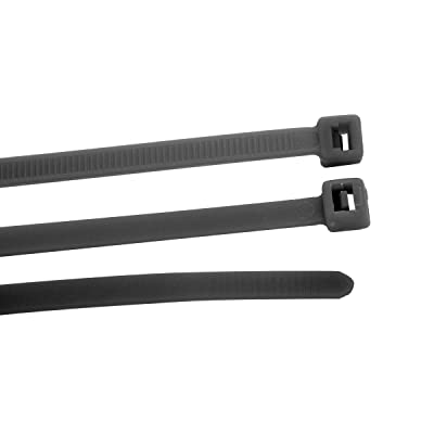 "GG Grand General 63050 Nylon Cable Zip Ties (Black 12""x3/16"", 15Pieces/Package): Automotive"