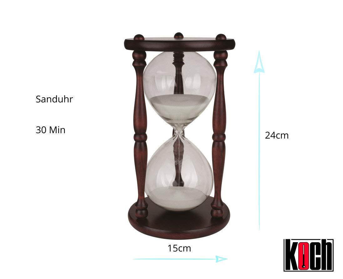 Koch 11514 - Reloj de arena de media hora: Amazon.es: Industria, empresas y ciencia