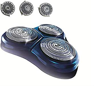 CORABLADE Cabezales HQ9 de repuesto compatibles con maquinilla de afeitar y cuchillas Philips Norelco Series HQ9 8140XL 8150XL 8160XL 8170XL 8171 8175: Amazon.es: Belleza