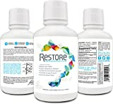RESTORE For Gut Health | Restore 4 Life Trace Mineral & Lignite Liquid For Improved Wellness and Digestion Balance | 16 Ounces