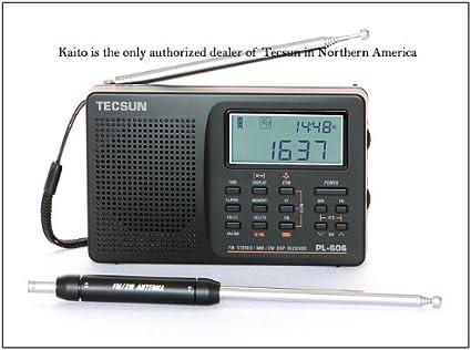 TECSUN PL360 PLL DSP Radio AM//FM SW  /</< BLACK />/> MW LW