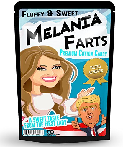 Melania Farts Cotton Candy – Funny Cotton Candy Gag Gifts
