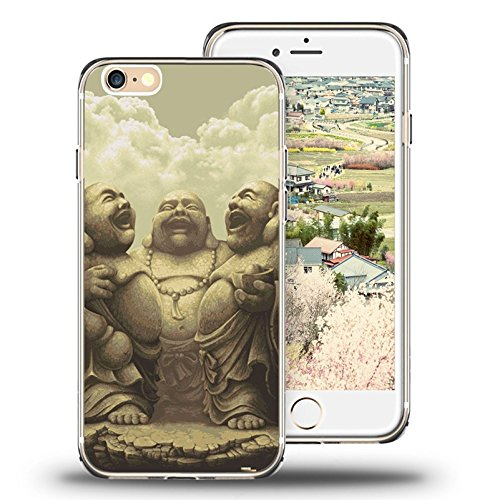 l iPhone 6/6s (4.7 Inch) Case, 2015 Unique Design fashionable Protective Cover Retro The Laughing Buddha ()