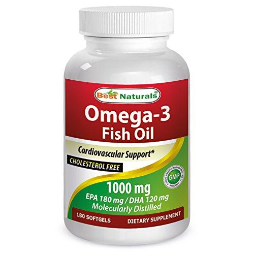 Best Naturals Omega 3 Fish Softgels