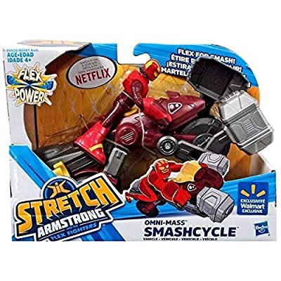 Stretch Armstrong Omni Mass Smashcycle & Figure: Toys & Games