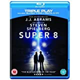 Super 8 - Triple Play (Blu-ray + DVD + Digital Copy) [Region Free] [UK Import]