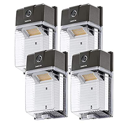 LEONLITE 30W Dusk to Dawn LED Wall Pack, 5000K