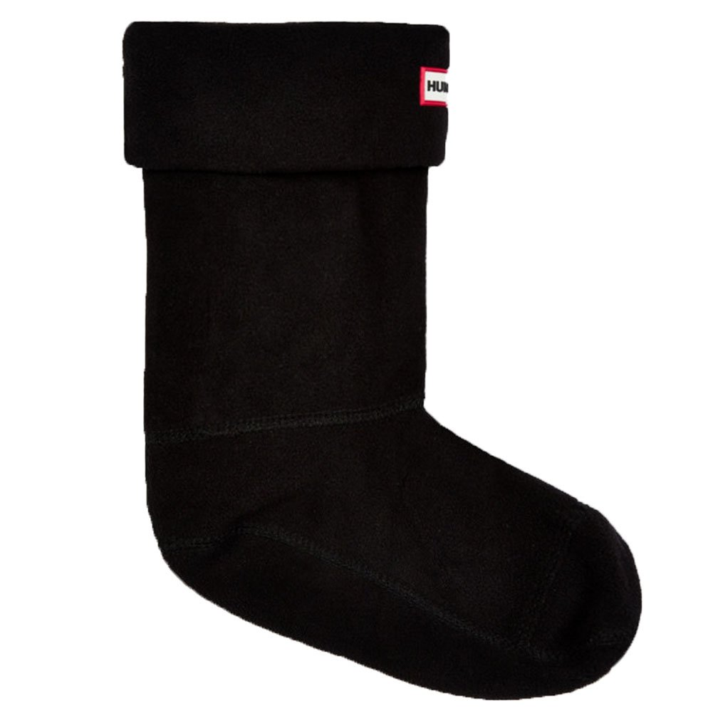Hunter Original Bambino Nero Fleece Welly Socks KAS4000AAA
