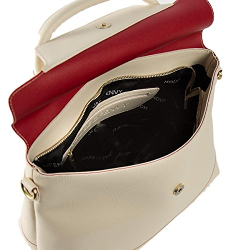 HOUSE OF ENVY - Tasche DREAM BIG SHOPPER doubleface offwhite, NVFS17C001