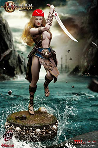 TBLEAGUE 1/6 Scale Female Seamless Action Figure Set -Arhian Pirate -12
