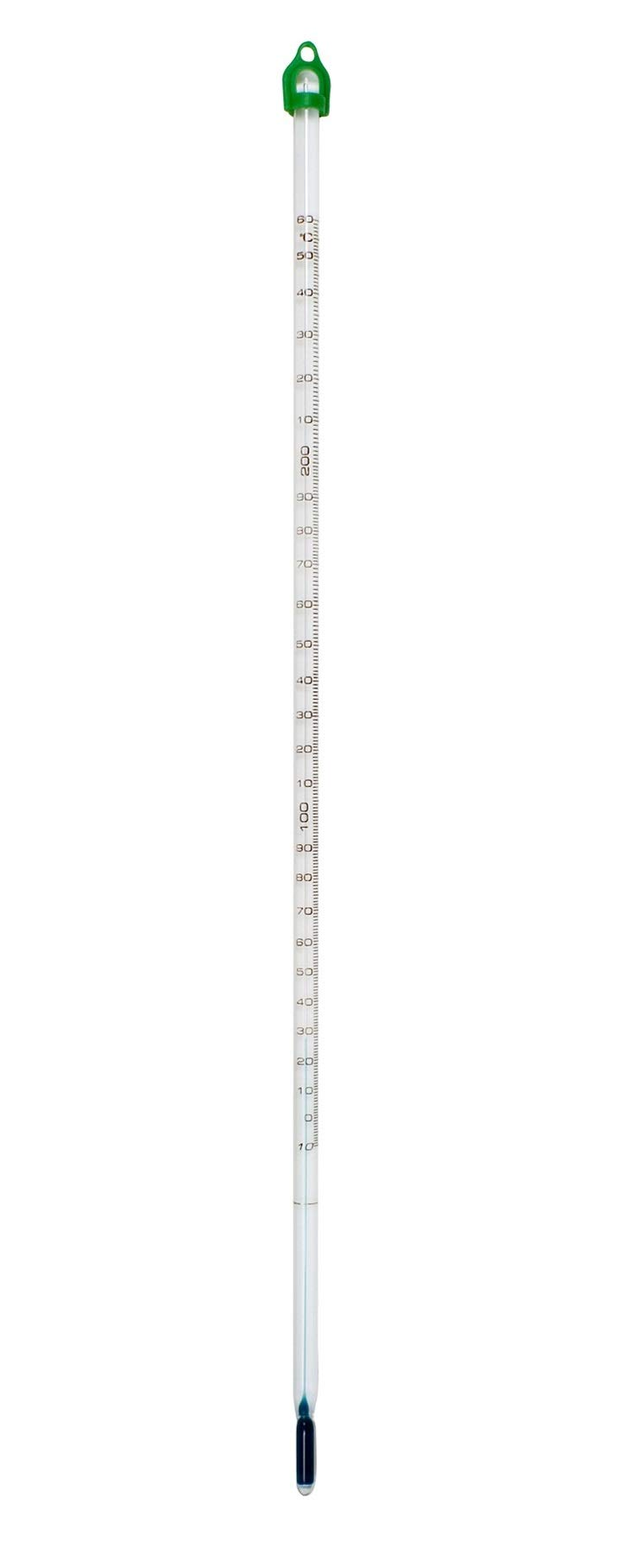 H-B Enviro-Safe General Purpose Liquid-In-Glass Thermometer; -20 to 110C, 76mm Immersion, Environmentally Friendly (B60502-0100)