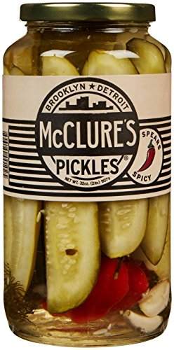 McClure's Pickles Spear Pickles-Spicy-32 oz
