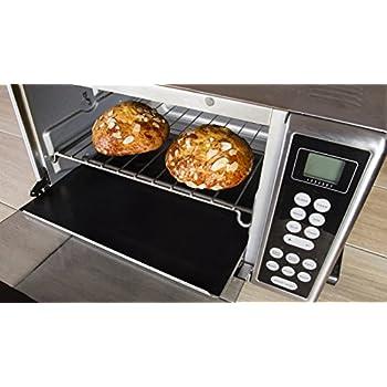Kitchen + Home Toaster Oven Liner   Heavy Duty 100% PFOA U0026 BPA Free